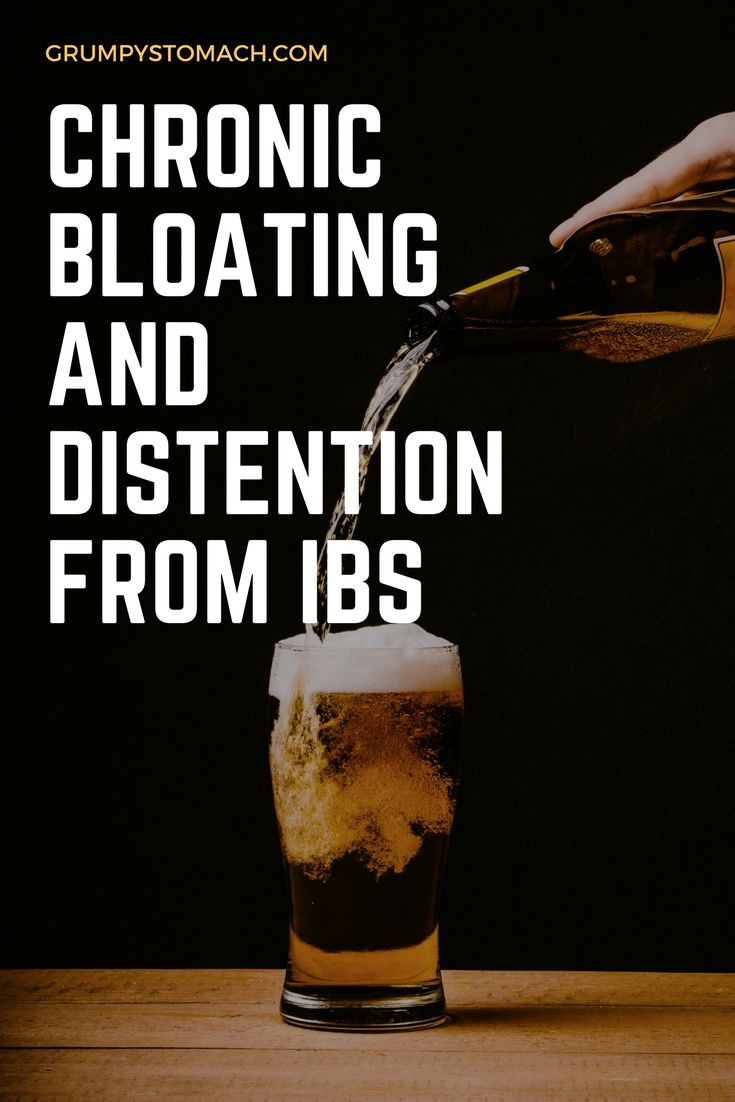 IBS can cause chronic bloating and distentions which are uncomfortable and frustrating on a daily basis.  But there are many ways to treat these unpleasant symptoms.