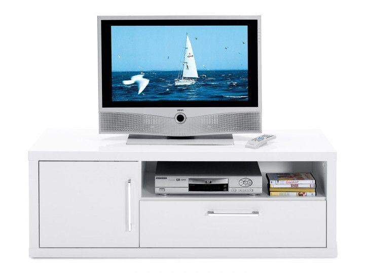 TV Unterschrank Sunny I auch in anderen Farben und Größen - schwarz weiß wohnzimmer