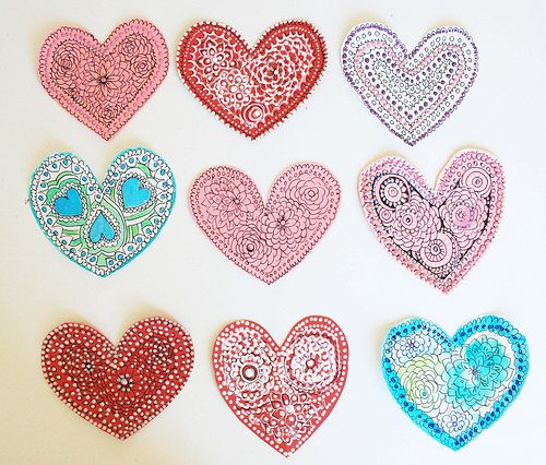 doodle marks valentine's day with a heart like a wheel