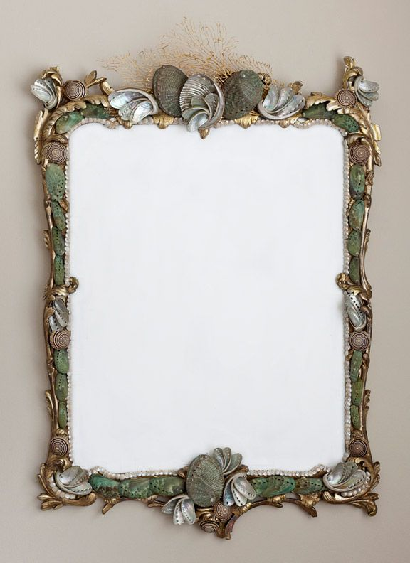 Mare Vecchio Sea Shell Mirror. Marjorie Stafford Design... Absolutely Gorgeous!!!