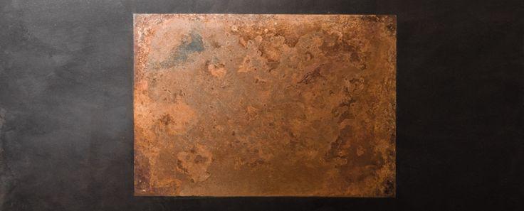 Métallisation à froid | BETON CIRE NANTES LA BAULE - ATELIER DESIGN: application de béton ciré, métallisation à froid, création de mobilier design