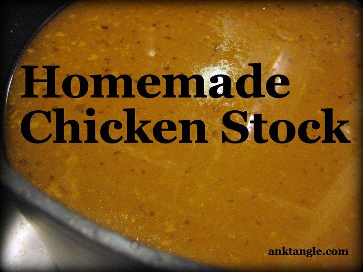 Rich chicken stock recipe ina garten
