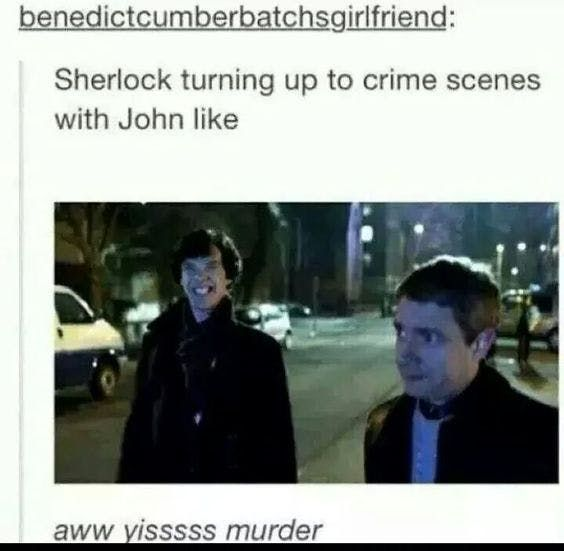 15 Tumblr Posts That Prove The Sherlock Fandom Is Scary AF - TheThings