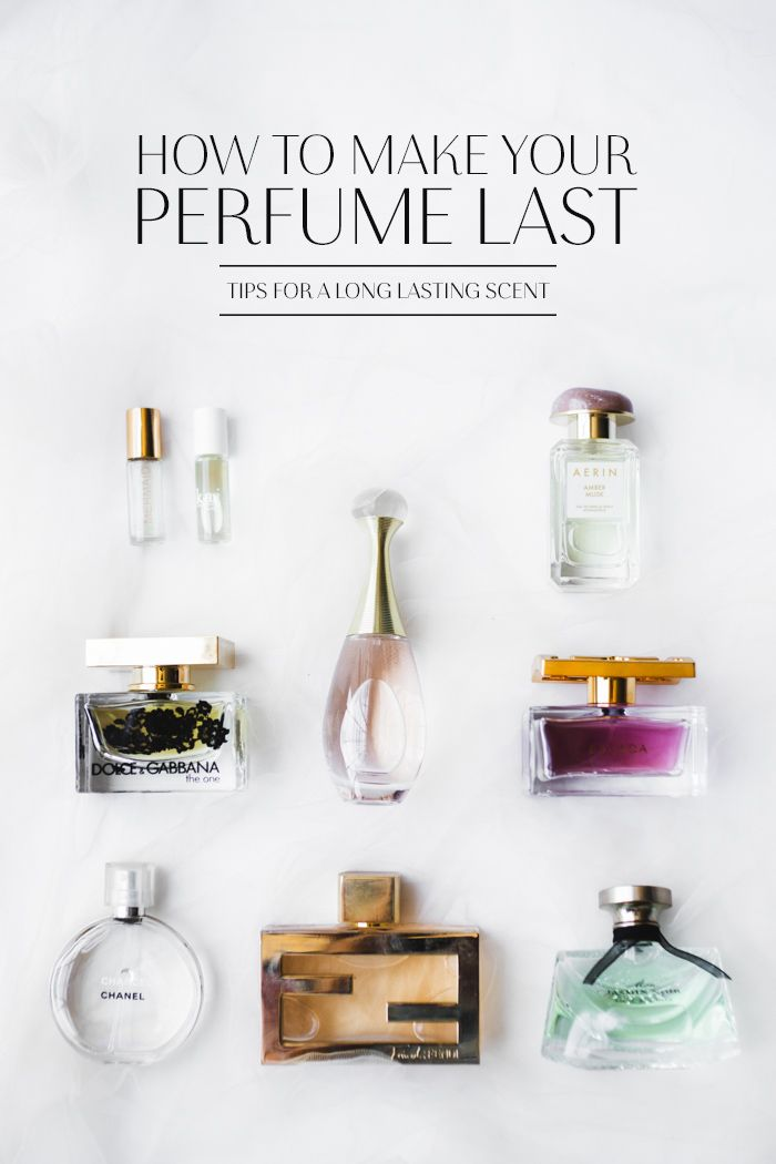 How To Make Your Perfume Last All Day Beauty