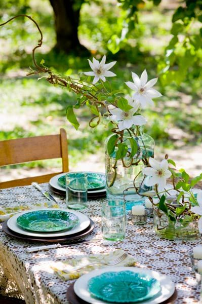 """TLC Cooking """"Summer Table Settings Image Gallery"""""""