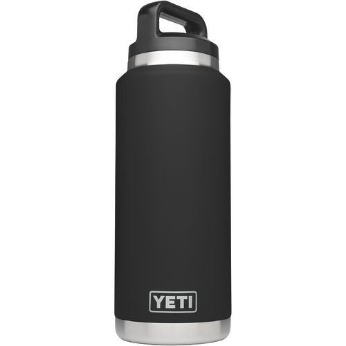 Yeti Rambler 36 oz Bottle Black - Thermos Cups And Koozies at Academy Sports