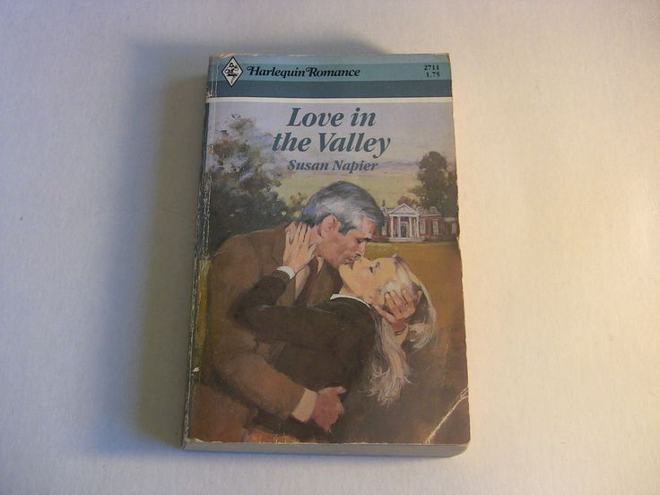 Harlequin Romance Paperback Book #2711 Love in the Valley Susan Napier 1985 1st Edition