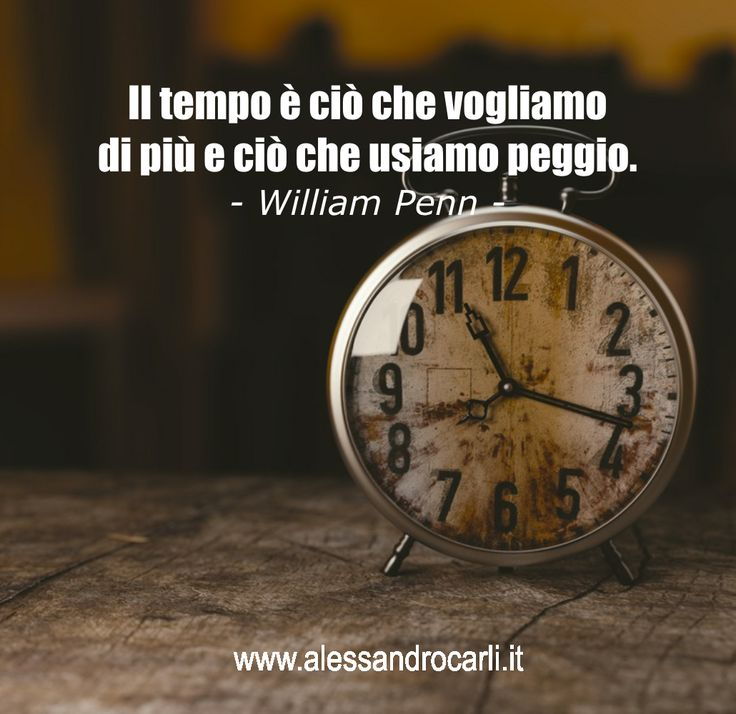 Siamo ossessionati dal tempo che passa, ma al tempo stesso non lo rispettiamo.