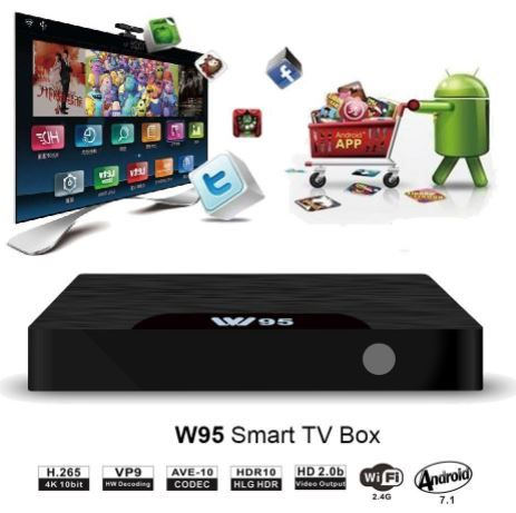 New Android 7.1 Quad Core Tv Box with 2GB Ram 16 GB rom