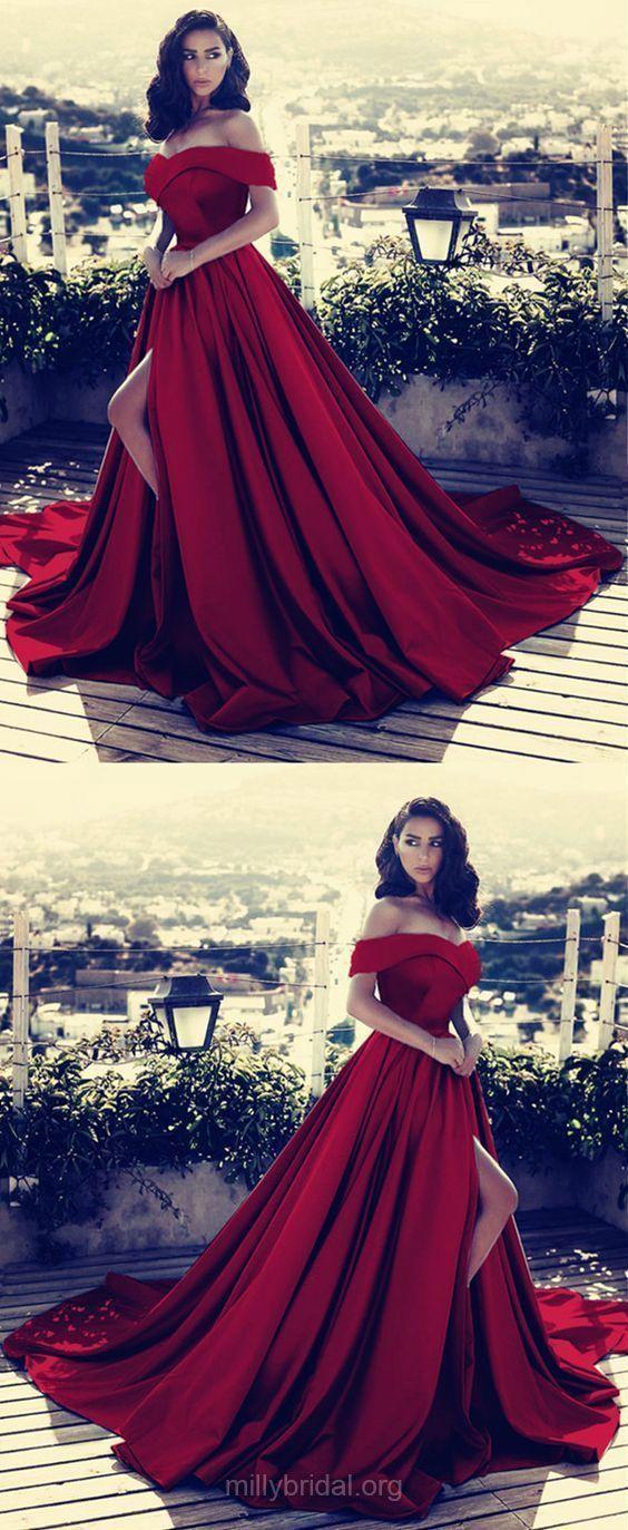 bf01893076fb Red Prom Dresses