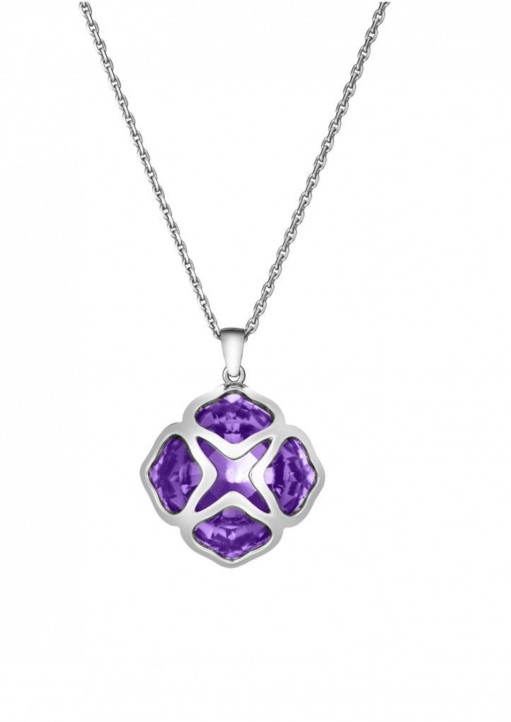 ad21c826b6ba5 Chopard Pendant IMPERIALE Cocktail Pendant 18k white gold and amethyst