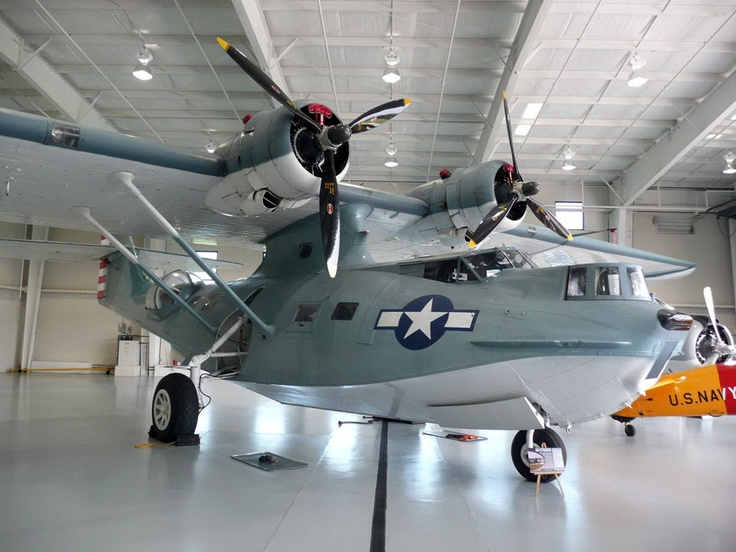The Consolidated PBY Catalina was an American flying boat of the 1930s and 1940s produced by Consolidated Aircraft. It was one of the most widely used multi-role aircraft of World War II. PBYs served with every branch of the United States Armed Forces and in the air forces and navies of many other nations. In the United States Army Air Forces and later in the United States Air Force their designation was OA-10. A Canadian-built PBY would be familiarly called a Canso...