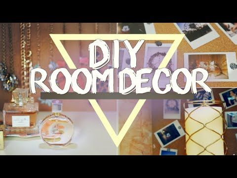 DIY Summer Room Decor | Easy + Cute!  Follow hairodynamic on youtube! Her film are editing skills are #flawless