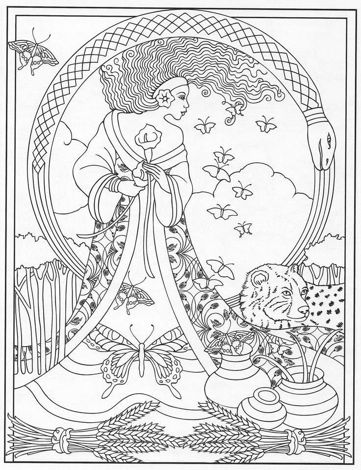 501 best Diseños - Brujas y Hechiceros images on Pinterest | Páginas ...