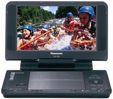 Panasonic DVD-LS86 8.5-Inch Portable DVD Player
