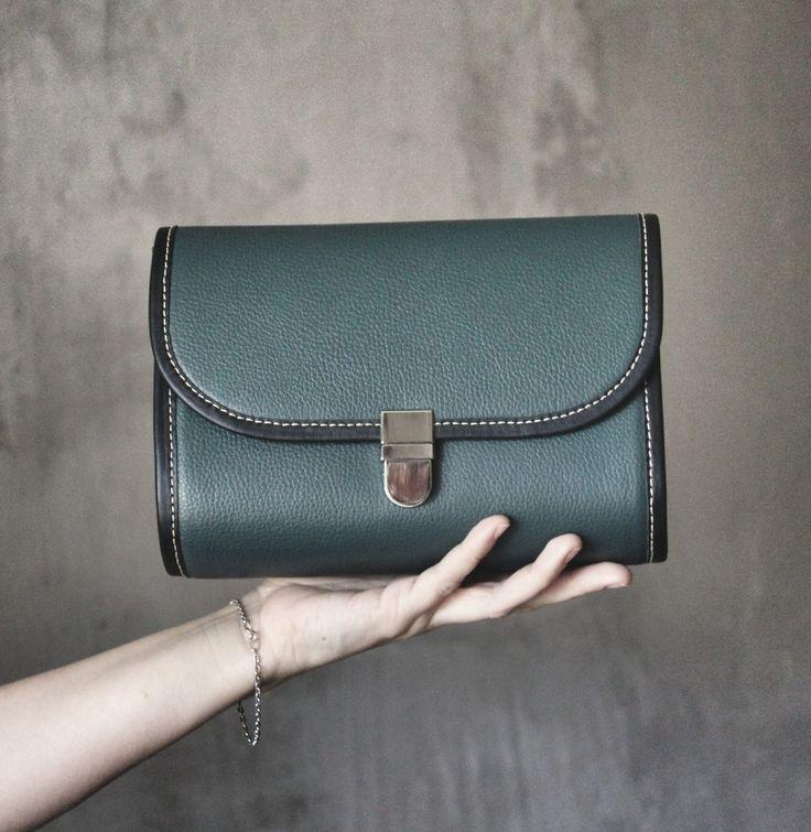 """Маленькая кожаная сумка """"VIKI"""" в магазине «bagzibags» на Ламбада-маркете"""