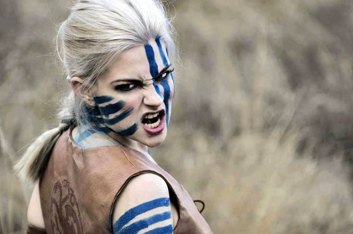 Celtic Warriors Pics Blue Painted Faces