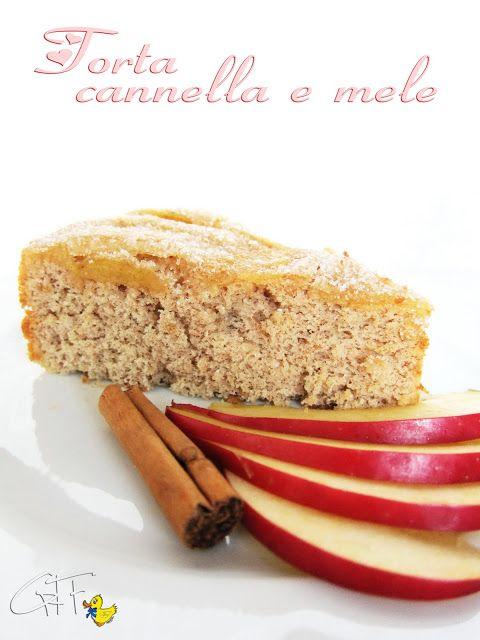 Gialla tra i fornelli: Una torta per farmi sorridere: cannella e mele