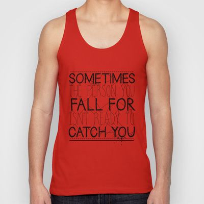 Fall For Unisex Tank Top by Daniac Design - $22.00