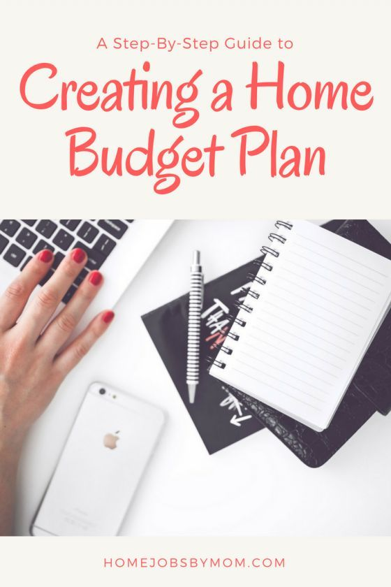 a step by step guide to creating a home budget plan savvy moms