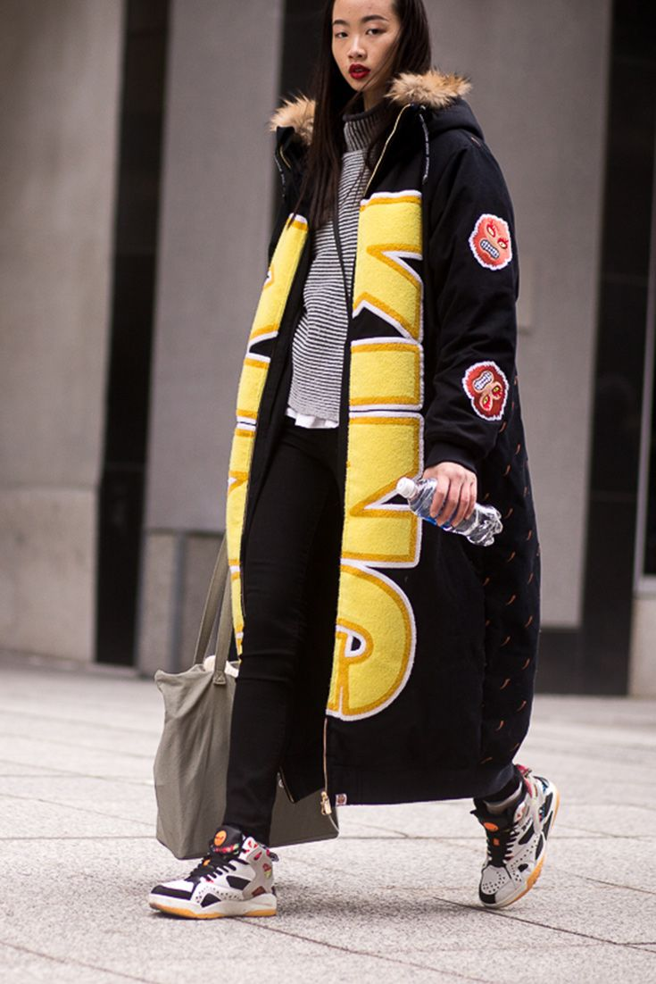 Super-sized coat = NYFW essential