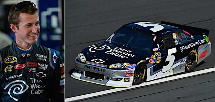 Lookout for Kasey Kahne and the new No. 5 Time Warner Cable Chevrolet