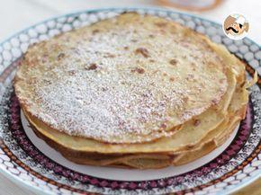 Receta Postre : Crepes sin gluten y sin lactosa por Petitchef_oficial