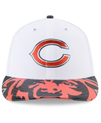 New Era Chicago Bears Low Profile 2017 Draft 59FIFTY Cap - Blue 7 3/8