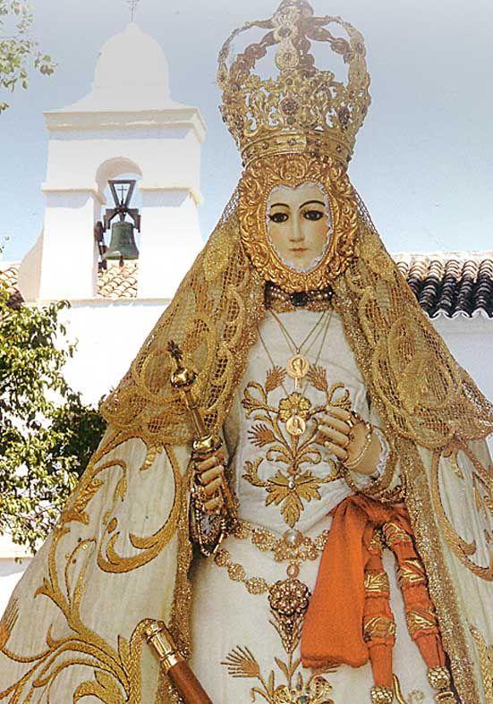 BOLIVIA - Nuestra senora de la candelaria de copacabana patrona de bolivia | Virgen del Campo de Cañete de las Torres,Cordoba