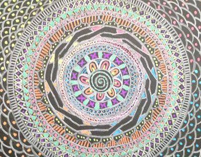 "Check out new work on my @Behance portfolio: ""Mándala. "" http://be.net/gallery/33653232/Mandala-"