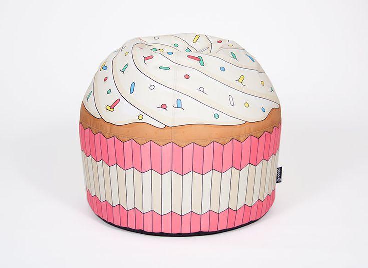 Cupcake Bean-Bag Pink