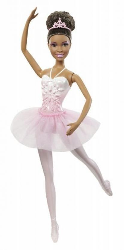 pictures black barbie dolls   Barbie Princess Ballerina - Black Doll