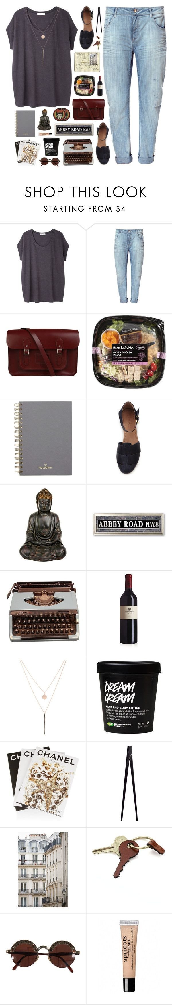 """""""nothing to it"""" by karm-a ❤ liked on Polyvore featuring Tsumori Chisato, Zara, The Cambridge Satchel Company, Moleskine, Mulberry, Steven Alan, Ali Moosally, Assouline Publishing, CB2 and Haussmann"""
