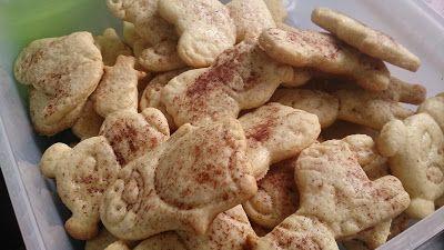 Le coin des gourmandes: Biscuits aux amandes et à la cannelle