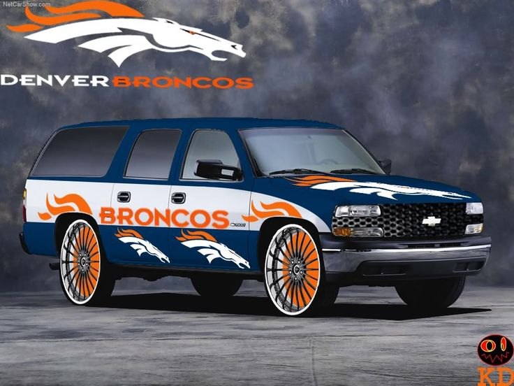 denver broncos pictures | DENVER BRONCOS CHEVY photo BRONCOSChevrolet-Suburban_2001_1024.jpg