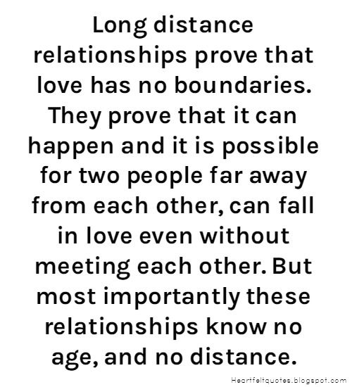 Long Distance Relationship Love Quotes Love Quotes