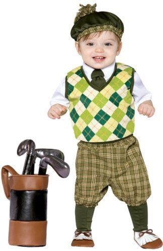 Preppy Baby Golfer Costume