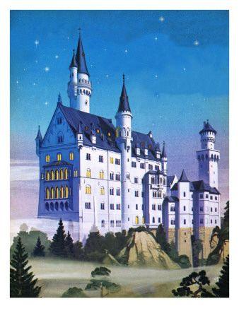 Fantasyslott - Posters på AllPosters.se