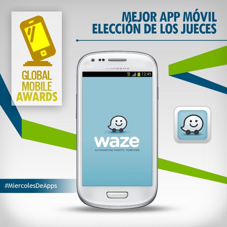 Waze gana premio en los GMA.