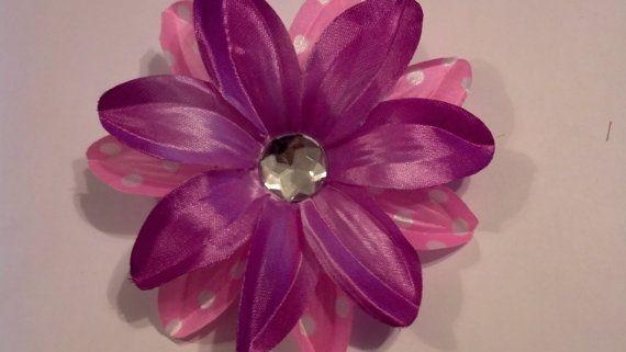 Flower Hair Accessory Hawaiian Flower Hair by GloriaMillerCreation, $8.00