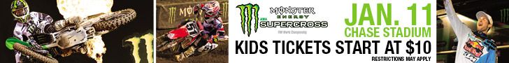 Sparkle Me Pink: Monster Energy Supercross Jan. 11 at Chase Field | Save $5 with code RIDE20 Monster Energy Supercross Jan. 11 at Chase Field - Get Your Tickets Today! http://www.ticketmaster.com//event/19004A96D51B3B6D?artistid=821673 @usfg