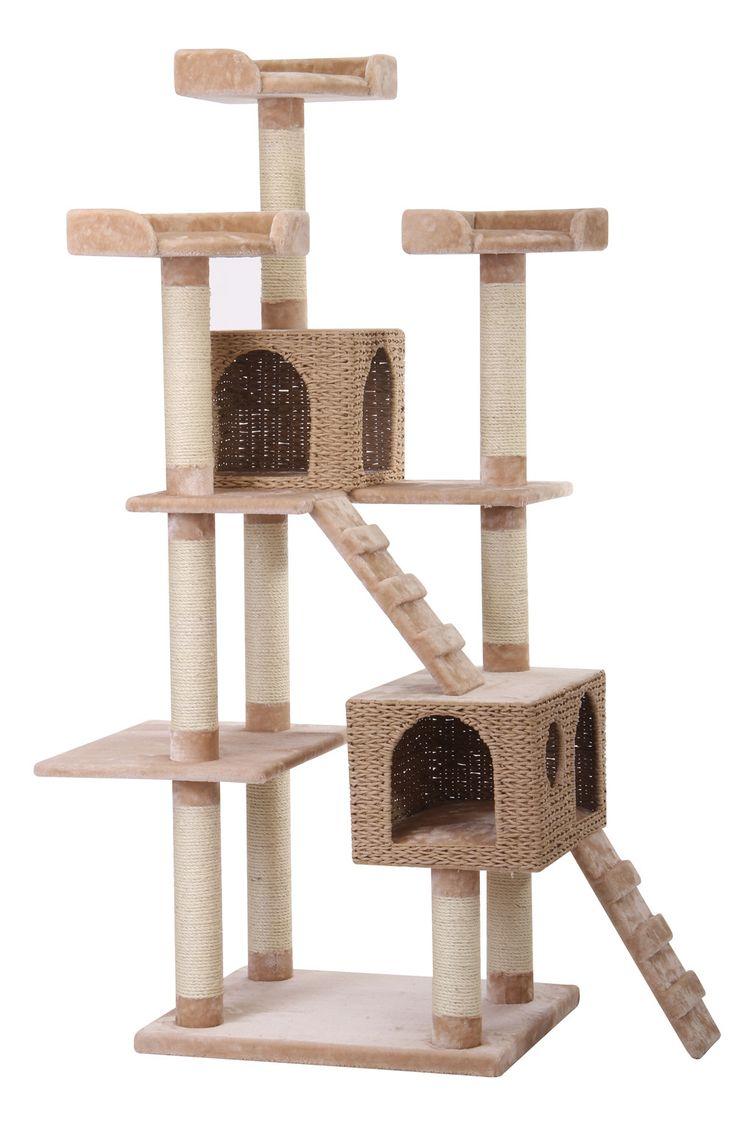 41 best Cat Tree images on Pinterest | Dog cat, Cat condo ...