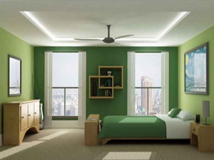 images of green bedroom paint color ideas for small room 05 - Color Ideas For Small Bedrooms
