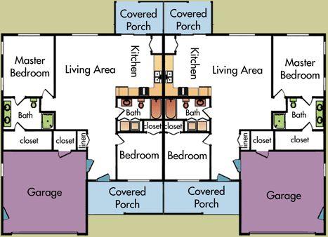 1000 ideas about duplex plans on pinterest duplex house