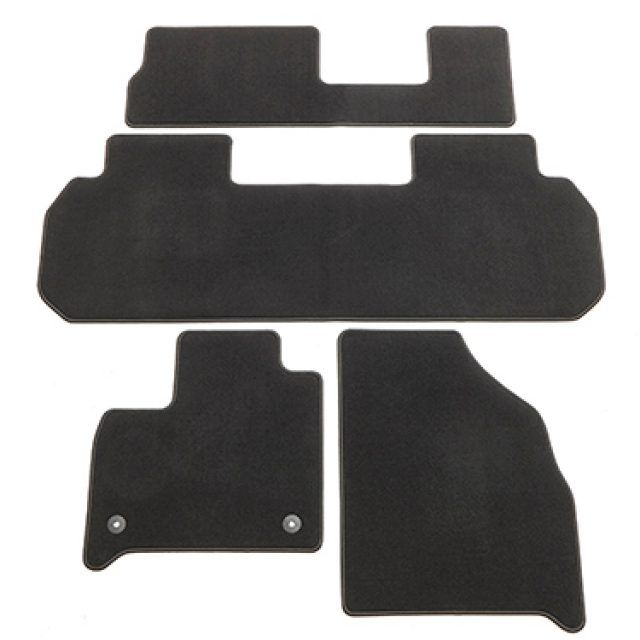 Carpeted Floor Mat Package In Jet Black Chevy Accessories