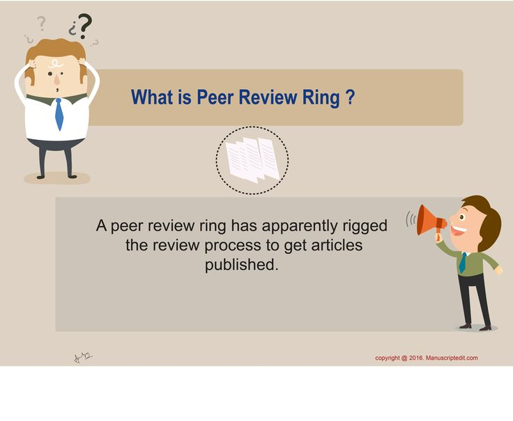 #Manuscriptedit @ What is Peer Review Ring?  A #peerreview ring has apparently rigged the review process to get articles #published.  #Manuscriptedit #peerreview : http://bit.ly/22eN8Vu
