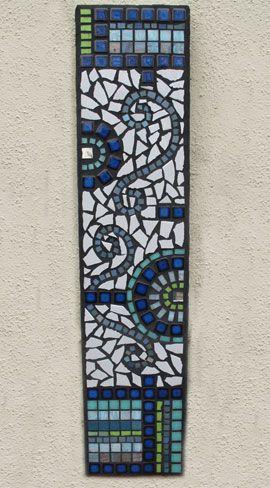 Mosaic garden wallhanging