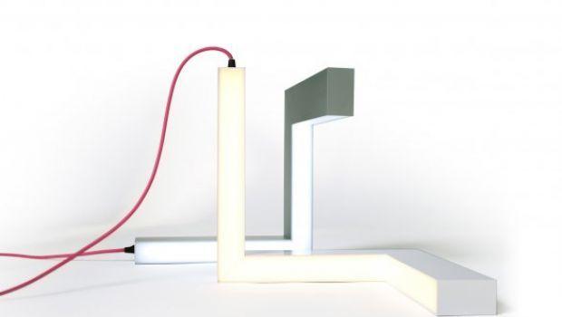 Lamp E, l'xyz della lampada cartesiana di Studio Kako Ko