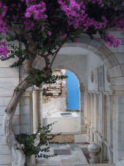 Hiding places….. island of Tinos Greece Art & Architecture