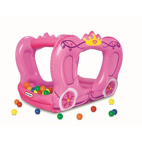 little tikes princess carriage ball pit - better sourcing